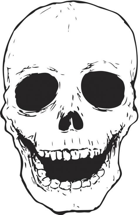 imagenes de calaveras para vestir dibujos de calaveras para colorear todosimple