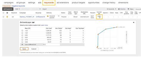 keyword bid ads launches quot bid landscape quot a keyword level bid