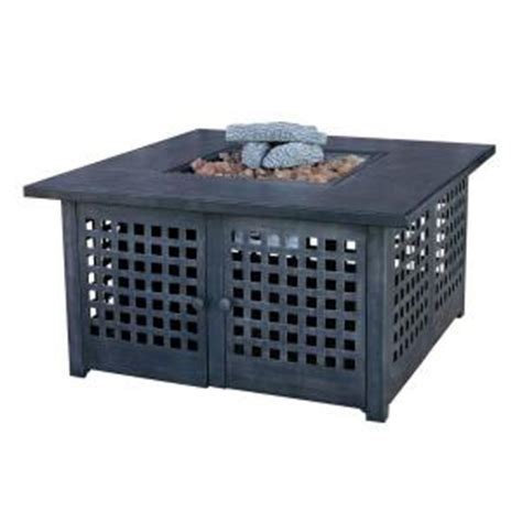 uniflame propane pit uniflame 20 in slate tile propane gas pit gad920sp