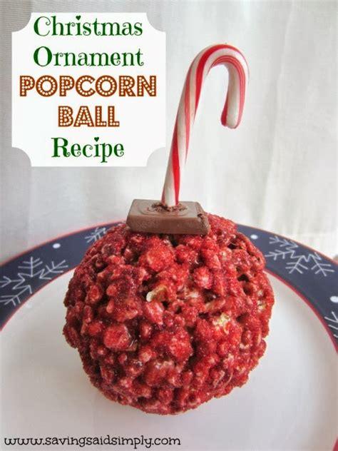christmas ornament popcorn ball recipe raising whasians