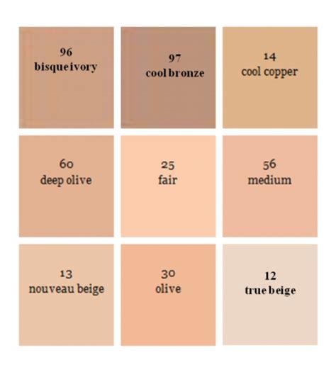 pan colors max factor pan stick makeup color chart makeup vidalondon