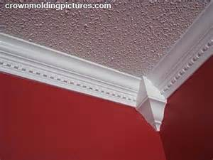 tips on installing crown molding on popcorn ceilings ehow