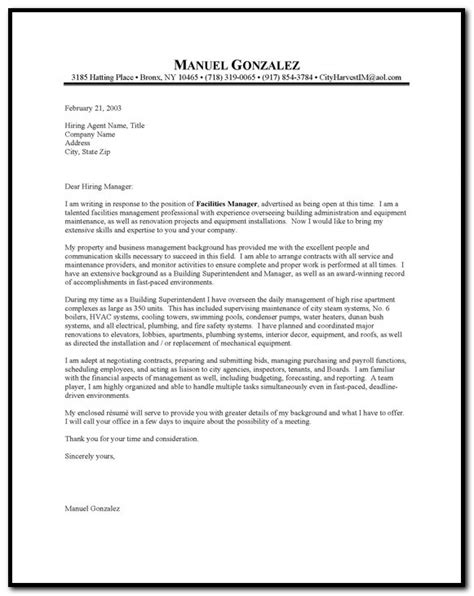 Cover Letter For Occasional Maintenance Resume Cover Letter Lovely Sle Cover Letter For Maintenance Position 78 With