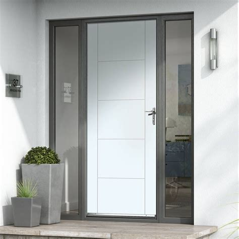 Extreme Weather Tigris White Door Jbk Extreme Weather Doors Weather Front Door