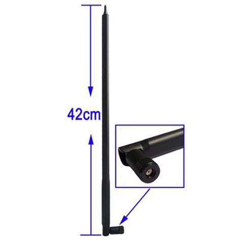 Antena Router antenna for router network 2 4ghz 22dbi rp sma black