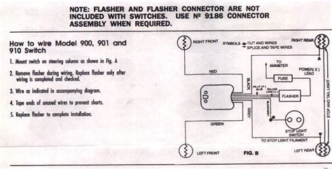 wiring a signal stat 900 ford truck enthusiasts forums