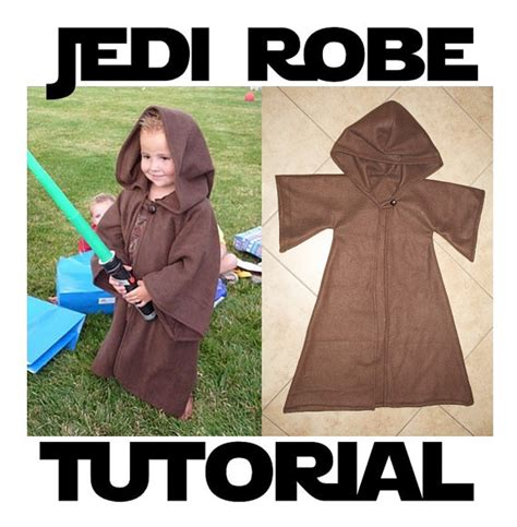 tutorial jedi costume jedi robe costume pattern tutorial