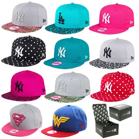 new era hats caps womens 9fifty snapbacks
