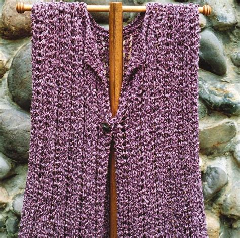 swing vest pattern swing vest knitting pattern by oat couture