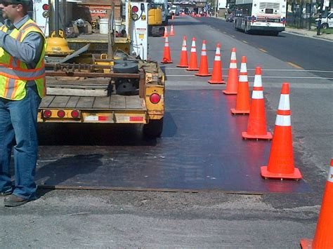 construction traffic signs national trench safety