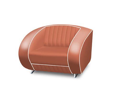 Kursi Sofa Retro Single Seat bel air retro furniture single seater sofa plain back lawton imports