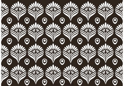 vector pattern white black and white peacock pattern vector download free