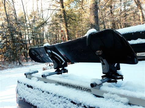 truck bed snowboard rack pickup truck bed ski rack