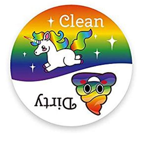 cleaning emoji amazon com dishwasher emoji magnet clean dirty 3 inch