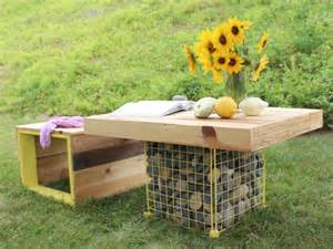 Picnic Table Without Benches 11 Diy Pallet Patio And Garden Furniture Projects