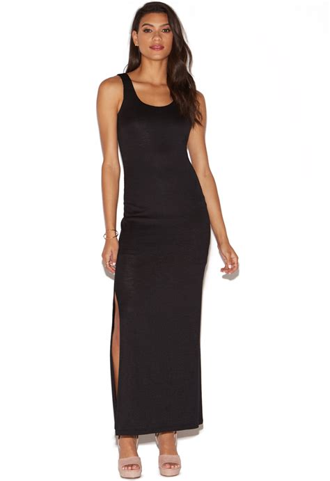 Knit Maxi Dress slub knit maxi dress shoedazzle