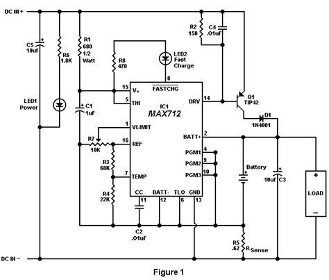 12 volt battery charger circuit diagram simple 12 volt gel cell charger circuit diagram