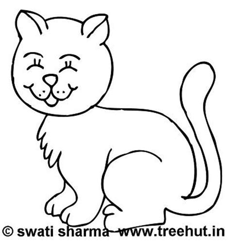 happy cat coloring page warli paintings quotes