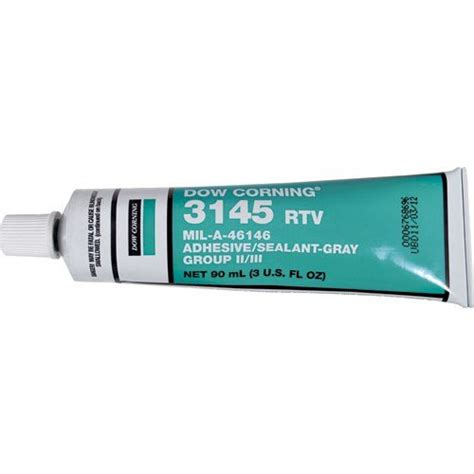 Dow Corning Rtv 3145 Silicone Adhesive Dc 3145 Limited dow corning 3145 gray rtv mil a 46146 adhesive sealant gray import it all