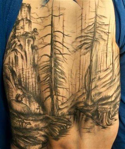 forest scene tattoo 17 best images about cool ideas on ed