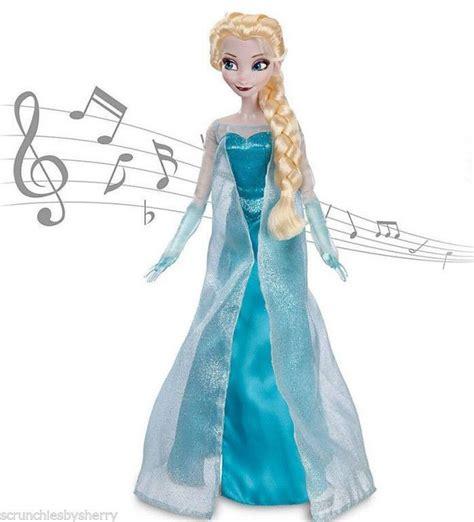 Light Up Elsa Doll disney store frozen singing elsa doll lights up let it go 17 quot new
