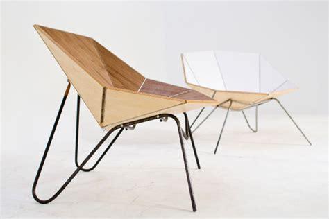 Origami Folding Furniture - reduce fold modern origami like furnishings decor