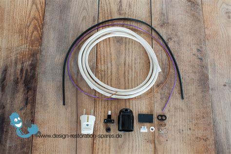 electrical rewiring electrical rewiring set for vintage kaiser idell 6739