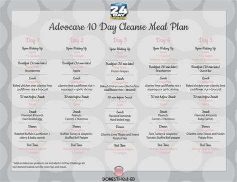 24 Day Detox Diet by Best 25 24 Day Challenge Ideas On Advocare
