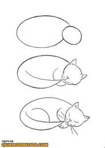 how to draw doodle cat 1 c 243 mo dibujar un gato