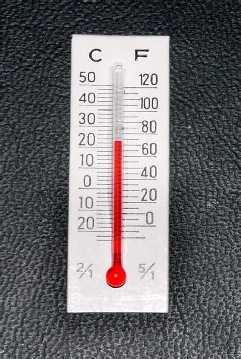 Temperature In This Room by Cardboard Thermometers