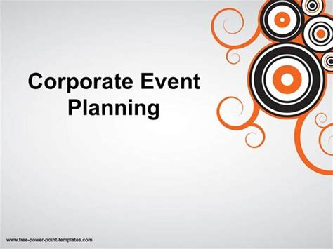 Event Management Presentation Template Event Management Powerpoint Event Presentation Event Management Presentation Template