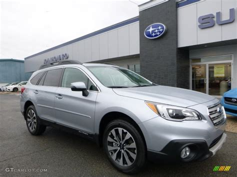 2016 Ice Silver Metallic Subaru Outback 2 5i Limited