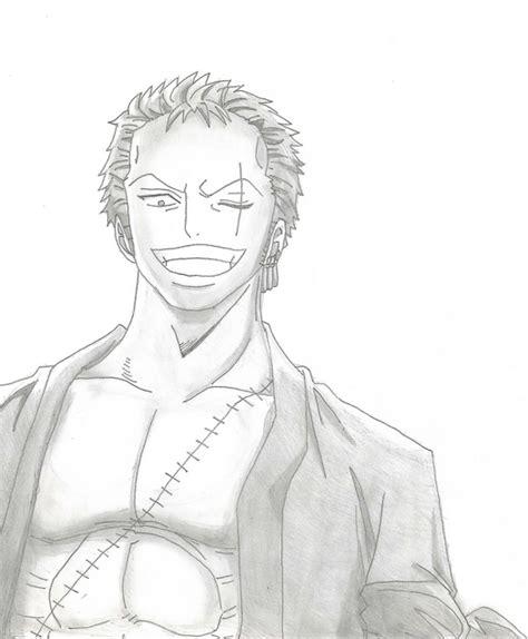 Drawing Zoro by Drawing Roronoa Zoro By Xlleonardo On Deviantart