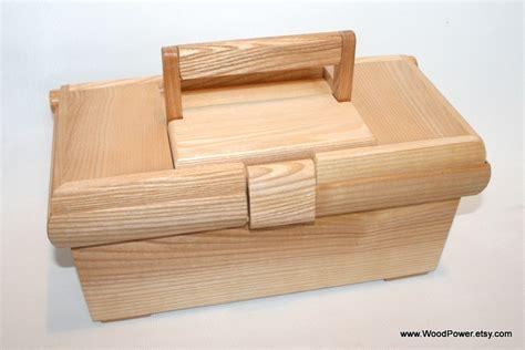 Handmade Tool Box - items similar to handmade wooden tool box ash wood on etsy
