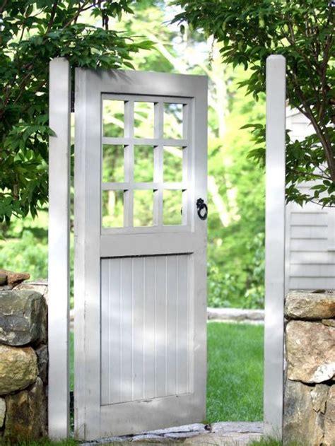 backyard gate door doyle herman design associates garden and landscape