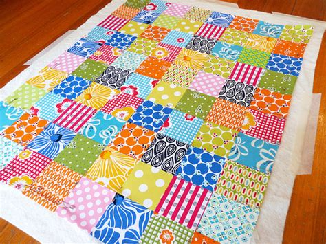 How To Quilt A Quilt by Pepper Quilts A Quilt Without Binding Tutorial