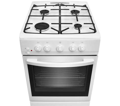 Cyprus Cooker White 0 7 L buy essentials cfsgwh14 gas cooker white free delivery