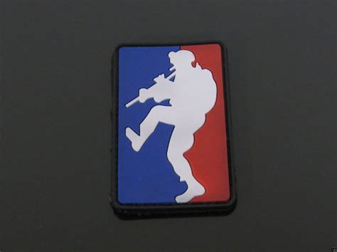Rubber Pvc Patch Emblem 3d Pelopor mld tactical major league door kicker 3d pvc rubber emblem patch morale blue us army airsoft