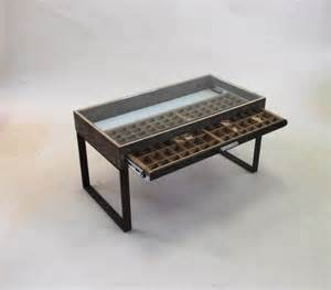 Glass Display Coffee Table Coffee Table Glass Top Display Drawer Woodworking Projects Plans