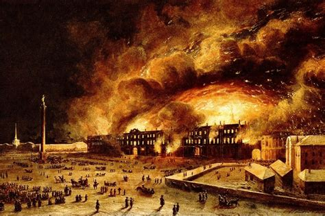 The Place In Flames History Of St Petersburg Emperor Nicholas I