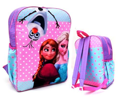 Tas Ransel Backpack Roda Anak Perempuan Motif Frozen tas sekolah sd anak perempuan toko bunda