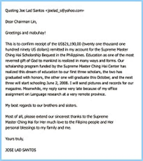 Thank You Letter To Professor For Scholarship Thank You Letter To Professor Levelings