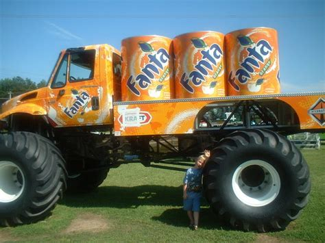 grave digger north carolina monster truck fanta orange monster truck picture of grave digger