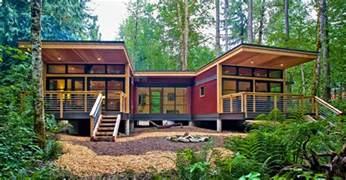 Modern Prefab Cabin by Prefab Modular Homes Builder On The West Coast Method Homes