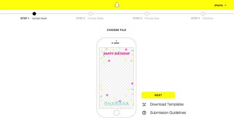 How To Create Use Custom Snapchat Geofilters For Your Brand Or Business Snapchat Template Size