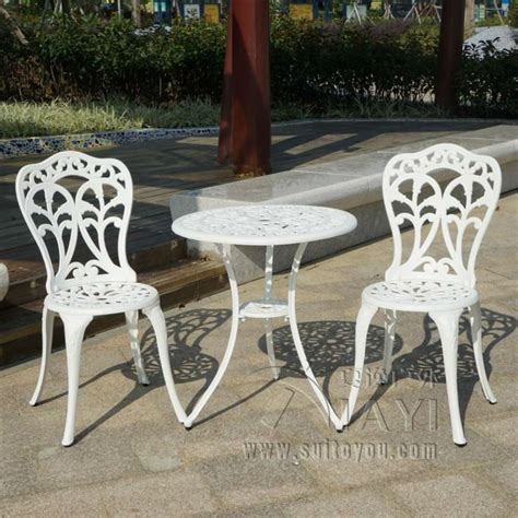 Compare Prices On Metal Garden Table Chair Sets Online Cast Aluminum Patio Table And Chairs