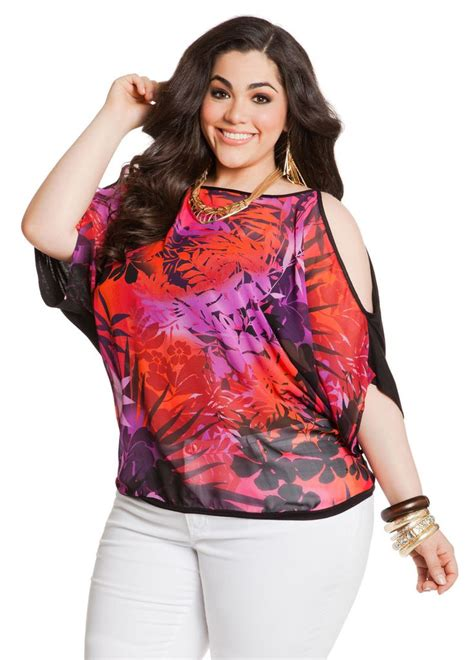 Blouse Ali 212 65 best tropicali plus images on plus size big sizes and curvy fashion