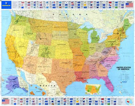 michelin maps usa usa michelin aluminum frame usa map michelin mounted 40