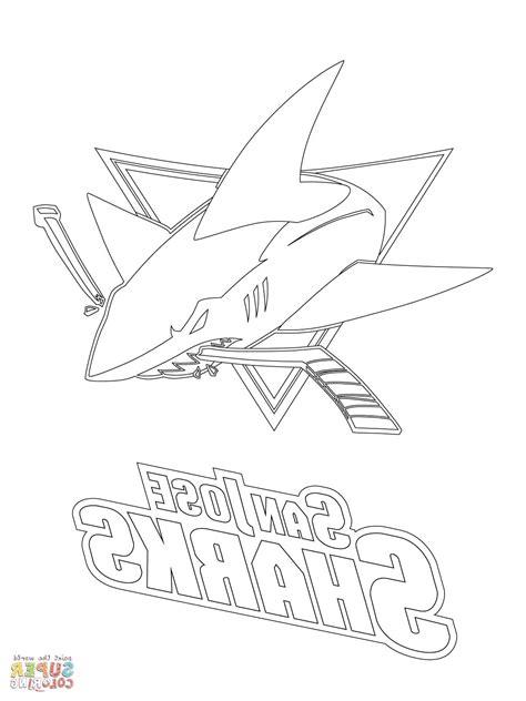sharks hockey coloring pages sharks hockey coloring pages hockey logo coloring pages