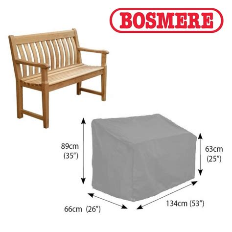 thunder bench bosmere thunder grey garden bench cover 2 seater u605 163 28 99 garden4less uk shop